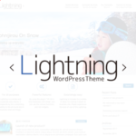 lightning wirdpress Theme