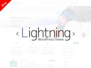 lightning wirdpress Theme